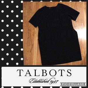 Talbot's Dress Women's Plus Size 24W in Black